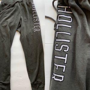 Gray Hollister sweat pants